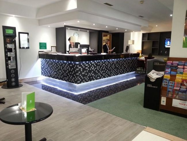 This Is Another Example Of A Reception Counter Which We Installed To Client Specifications In Well Established Local Hotel Again The Owner Wanted Go