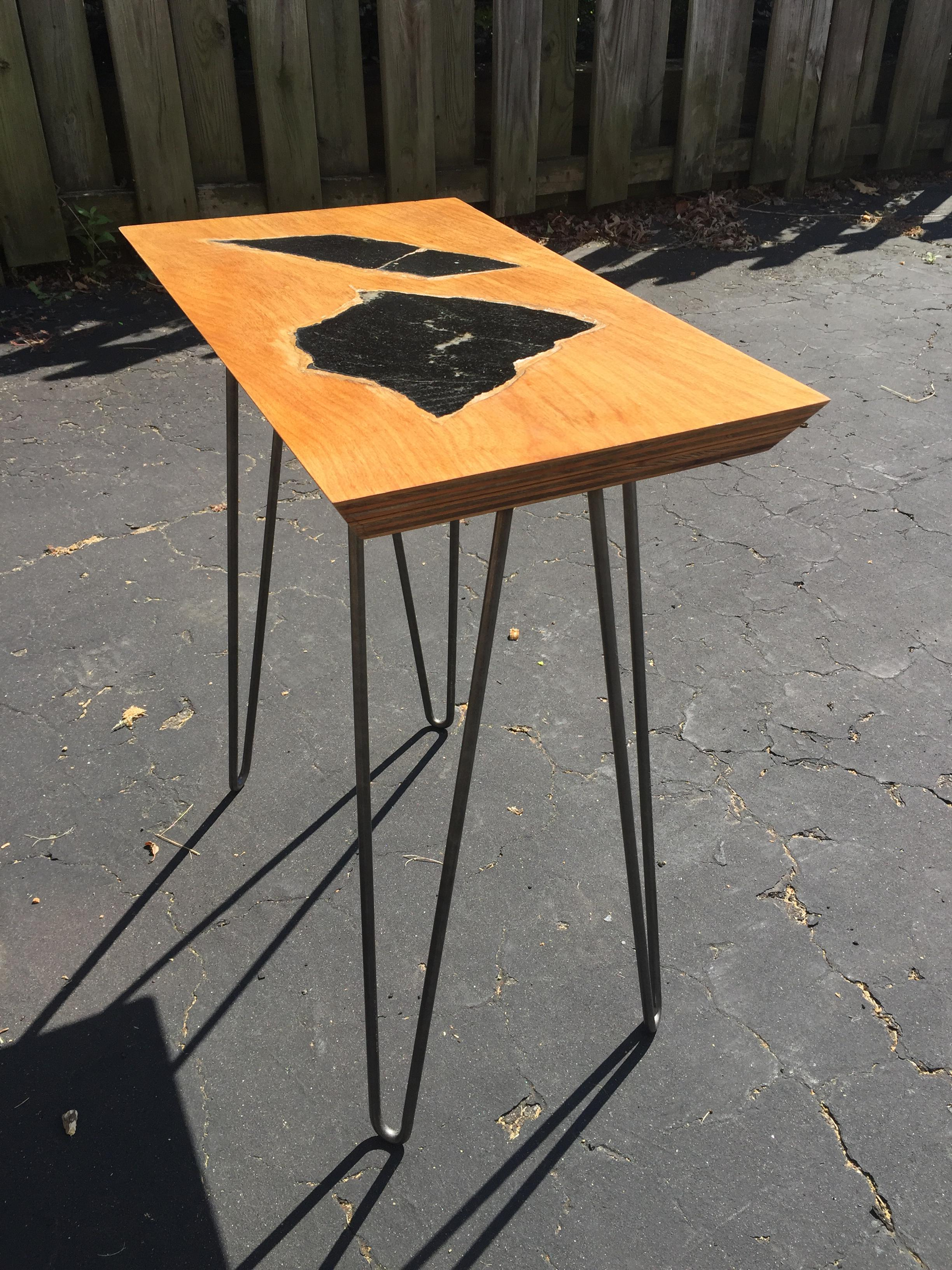 10 granite side table