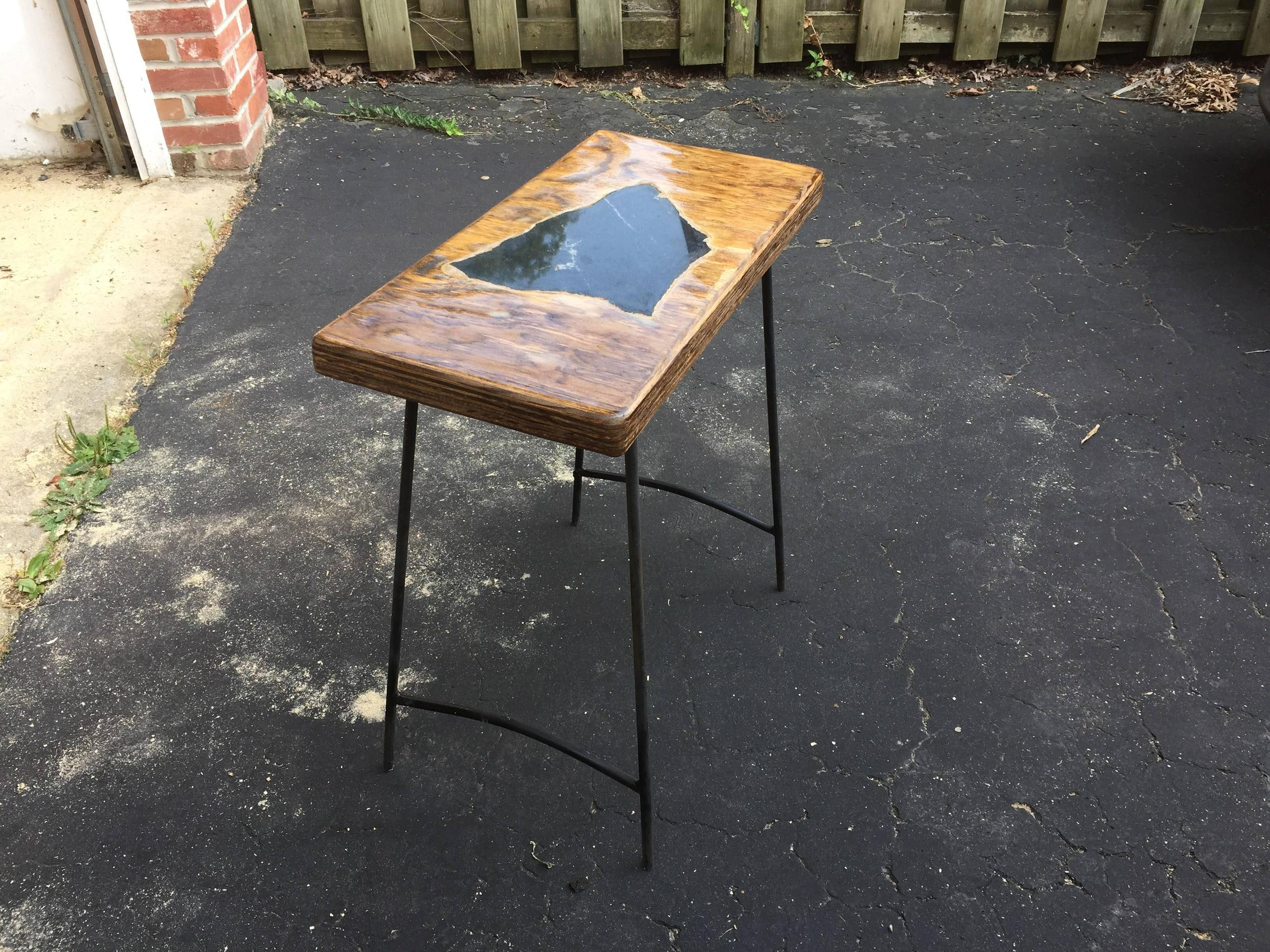 Granite side table 1