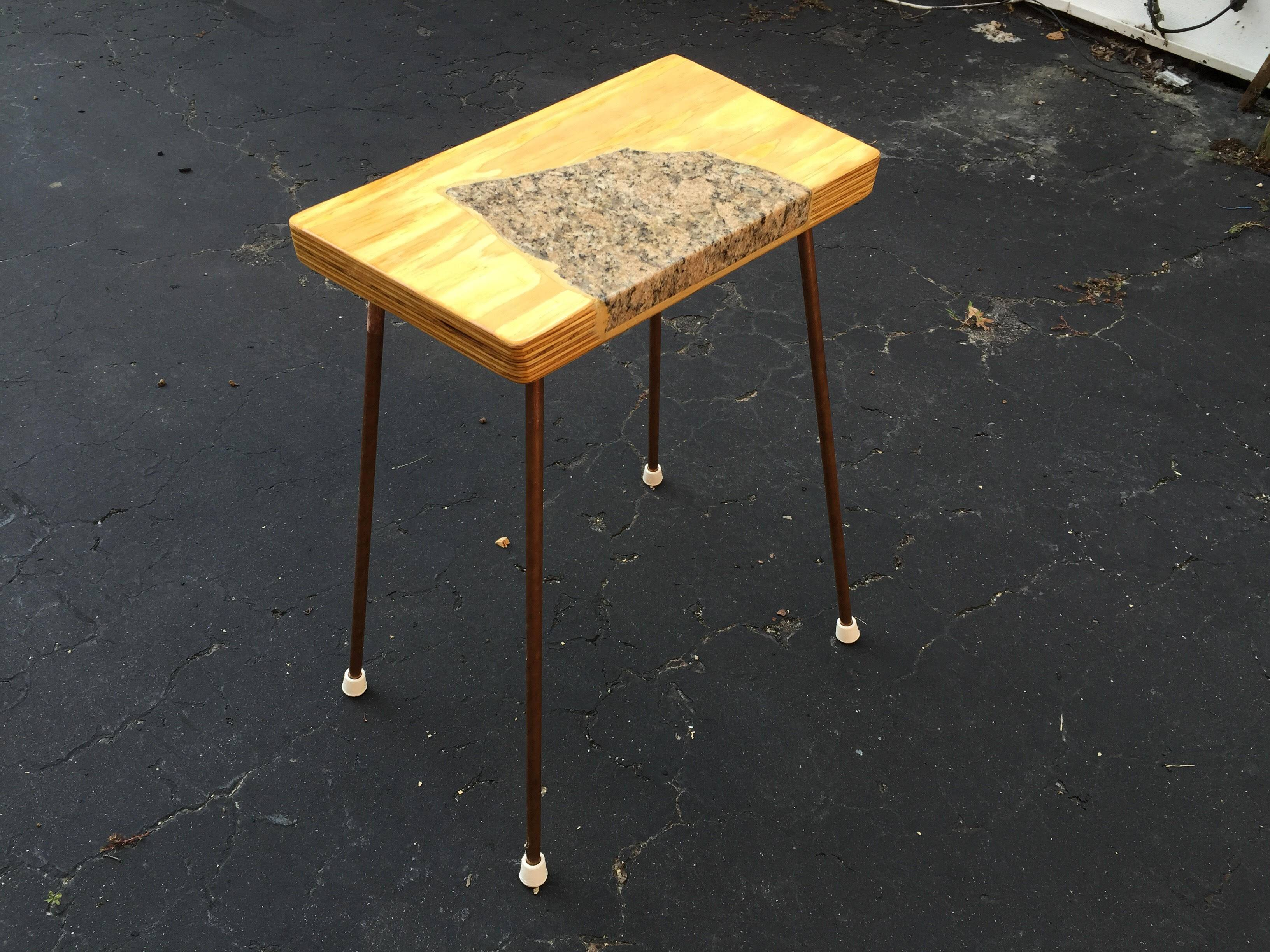 Granite side table 5