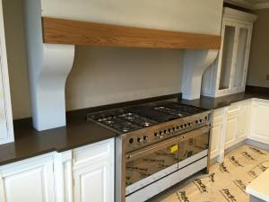 Country-style granite kitchen