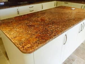 Bronze-kitchen-island