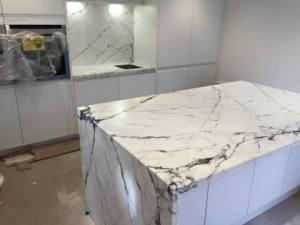 Monolith-granite-kitchen-island