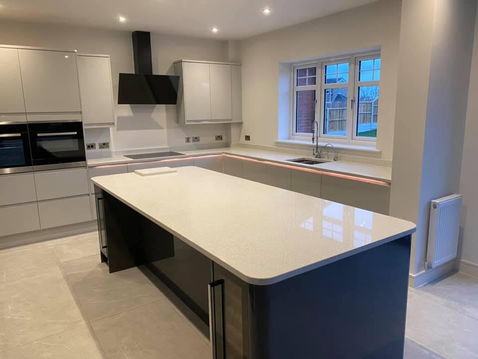 countertops in a beautiful granite kitchen